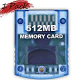 Memory Card 512MB(8192 Blocks) for Nintendo Wii Game Cube NGC Gc (1 Pack 512MB)