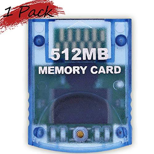 Memory Card 512MB(8192 Blocks) for Nintendo Wii Game Cube NGC Gc (1...