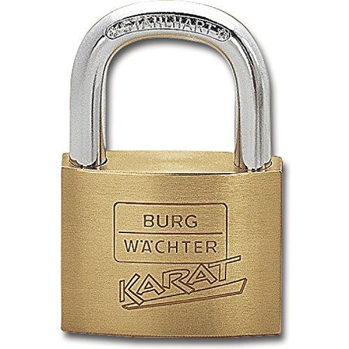 BURG WÄCHTER hangslot 217 karaat gelijksluitend Gelijkblokkerende blokkering X2 Breite 30 mm