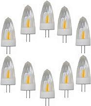 Led Bulbs, G4 LED Light Bulbs Dimmable 220V, 3W (30W Halogen Equivalent), 260LM, 3000K/6000K, G4 Base, G4 Crystal Bulbs fo...