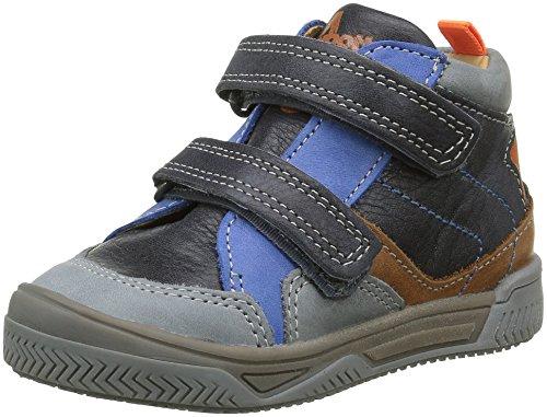 Babybotte Argile, Chaussures avec fermeture velcro garçon, Gris (160 Gris), 23 EU
