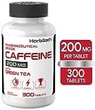 Best Caffeine Pills - Caffeine Pills 200mg with Green Tea | 300 Review