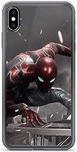 iPhone Xs Max Pure Anti-Shock Case Iron Spiderman Peter Parker Stan Lee Movie Shield Avengerss Comic Superhero