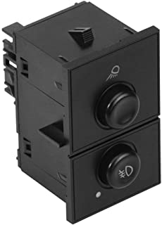Cargo and Fog Lamp Switch - Replaces D7096C, 15143597, 1S14820. 15076588 - Compatible with Chevy, GMC & Cadillac Vehicles...
