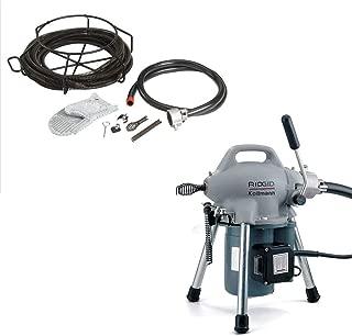 Ridgid 58920 K-50 Sectional Machine & Ridgid 59365 Model A-30 Cable Kit