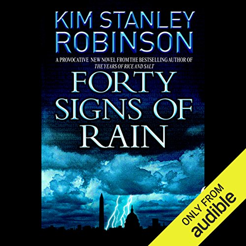 Forty Signs of Rain audiobook cover art