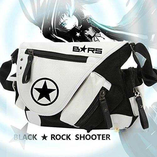 JOYCOS ブラックロックシューター BLACK ROCK SHOOTER アニメ鞄 ショルダーバッグ A4サイズ対応 実用性高い 通学 旅行 男女兼用