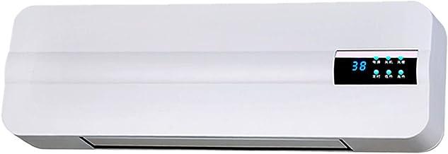Calefactor de Pared, 57×18×11cm a Prueba de Agua Calefactor Cerámico de Pared 1000W/ 2000W con Temporizador y Mando a Distancia Calefactor