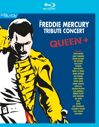 Queen + - Freddie Mercury Tribute Concert [Blu-ray]