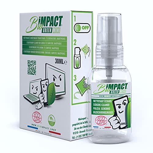 Spray Pulizia Telefono - Pulizia Occhiali - Ecologico - 30ml - Pulisci Schermo Pc - Pulizia Schermo PC - Screen Cleaner - Prodotto per Pulizia Smartphone - Pulizia Laptop - Pulisci Tablet