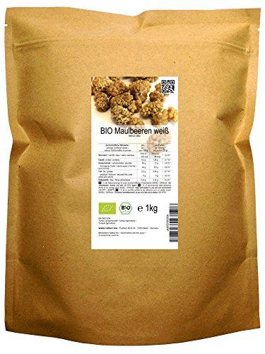 BIO Maulbeeren weiß (1 kg)