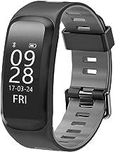 LXRZLS Smart Watch Fitness Tracker Calorie Step Counter Smart Phone Waterproof Watch  Color   A