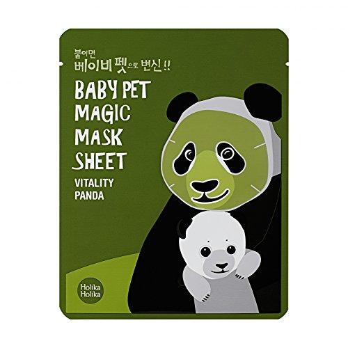 Holika Holika Baby Pet Magic Mask Sheet Panda gesichtsmaske Korean Kosmetik 1pc