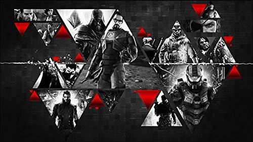 Poster World Poster Batman Arkham City Half Life Assassin S Creed Revelations Halo finition mate 30,5 x 45,7 cm (Multicolore)