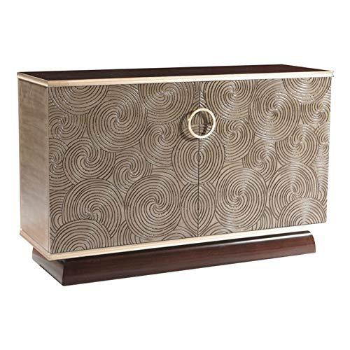 Aparador Aparador de Madera Maciza Retro Accesorios de Muebles Buffet Gabinete Sala de Estar Cocina Comedor Aumentar el Espacio de Almacenamiento (Color : Wood, Size : 136.5x45x88cm)