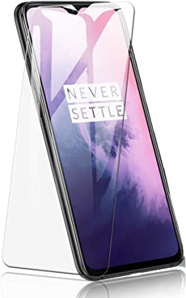 Jump Start OnePlus 7 Tempered Glass Screen Protector HD Clarity 3D Touch Full Coverage [Bubble-Free] Case Friendly [Easy Install] Screen Protector for Oneplus 7 Launch