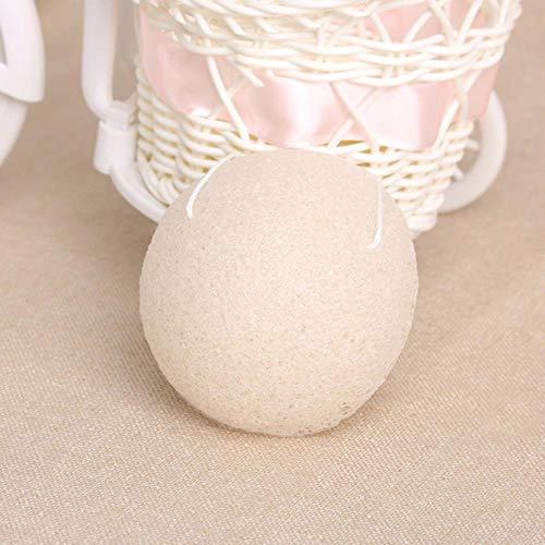 LLine 1Pcs Face Wash-spons Konjac-spons Exfoliërende gezichtssponzen Gezichtsreiniger Reiniging, crème
