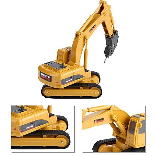 RC Auto kaufen Kettenfahrzeug Bild 4: Fernbedienung Bagger, Fernbedienung Bagger Truck Mini Digger RC Engineering Auto Baufahrzeug Spielzeug Geschenk für Kinder( 2 #)*