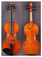 バイオリンセット マンダリンダックインレイと4/4手作りのバイオリン