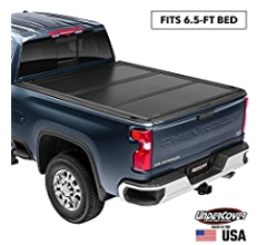 UX52014 UnderCover Ultra Flex Hard Folding Truck Bed Tonneau Cover fits 2016-2019 Nissan Titan 5.5ft Short Bed Crew