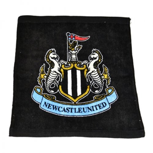 Official NEWCASTLE UNITED FC crest design face cloth by Newcastle United F.C.