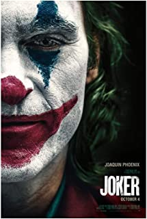 "Joker (2019, Joaquin Phoenix) Movie Poster 24""x36"" - This is a Certified Poster Office Print with Holographic Sequential Numbering for Authenticity."