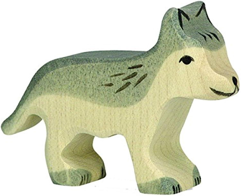 Holztiger Little Wolf Toy Figure