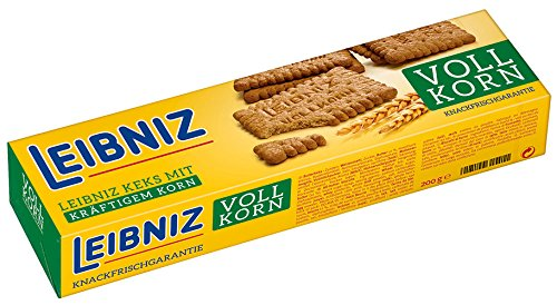5x Leibniz Bahlsen - Vollkorn-Keks - 200g