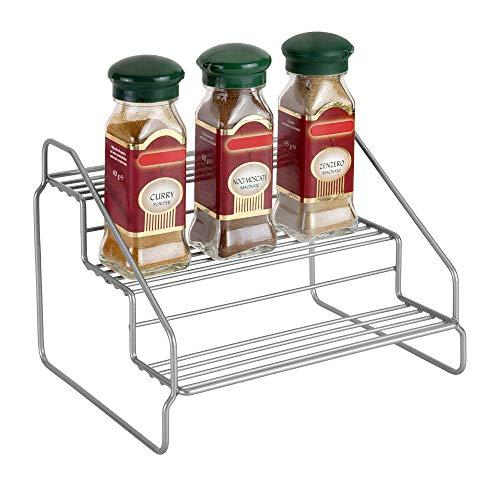 Metaltex STEPPO - Estante de cocina con 3 niveles