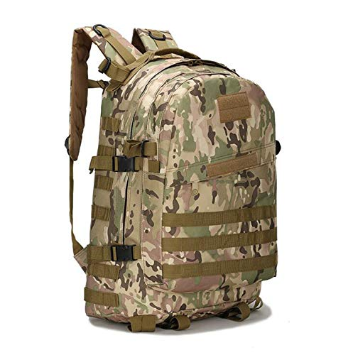 OASIS LAND 55L 3D Outdoor Sport Climbing Mountaineering Backpack Camping Hiking Trekking Rucksack Travel Outdoor Bag-CPCamouflage-OneSize