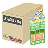 Good Boy - Mega Chewy Twist With Chicken - Dog Treats - Made With 100% Natural Chicken Breast Meat - 70 Grams - High In Protein Dog Treats - Case of 18