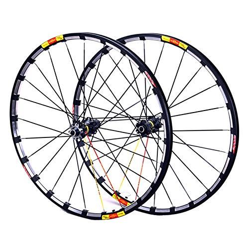 Accesorio de bicicleta de ejes de liberación rápid MTB Bicicleta RIM 26 27.5 29 EN RACING BIKE BIKE Wheelset Disco Ruedas de freno 7-11 Cassette de velocidad Hubs de fibra de carbono Rodamientos sella