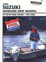 B782 Clymer Suzuki 9.9-70hp Four-stroke Outboard 1997-2000 Repair Manual