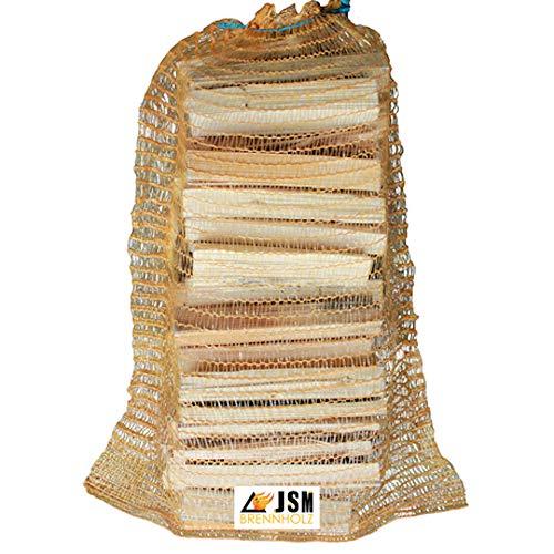 Anzündholz 6 Netze a 3 Kg Anmachholz Anfeuerholz Brennholz trocken sauber und ofenfertig