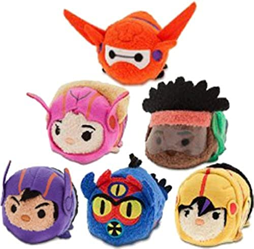 Las ventas en línea ahorran un 70%. Disney - Big Hero 6 ''Tsum Tsum'' Tsum'' Tsum'' Mini Plush Collection - Set of 6 Action Team Figures by Disney  precios razonables