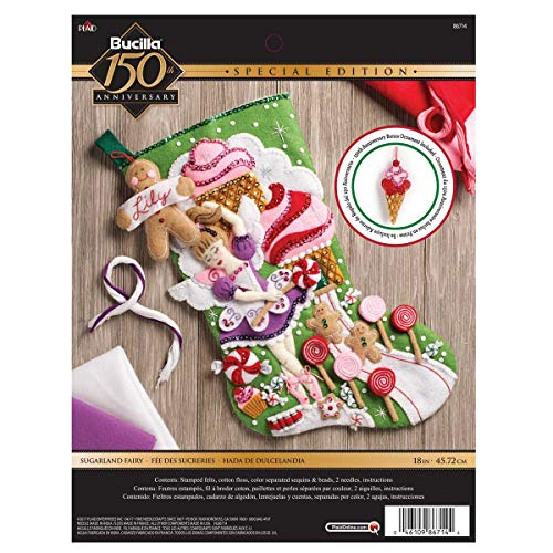Bucilla Sugarland Fairy Stocking Kit