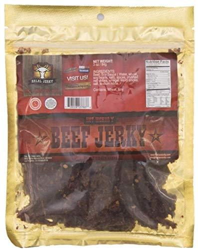 Halal Hot Hickory Beef Jerky 3 oz (2 pack)