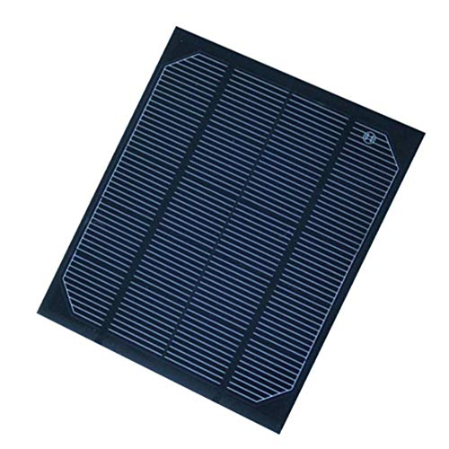 ZHENAI Mini Solar Panel Charger, 5V Monocrystalline Solar Panel PET Laminate for Outdoor Electronic Equipment