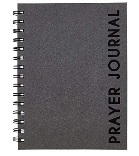 Pastor Gifts, Christian Gifts for Men, Modern Spiral Bound Prayer Journal for Daily Devotionals, 144 Page, 8 Inch