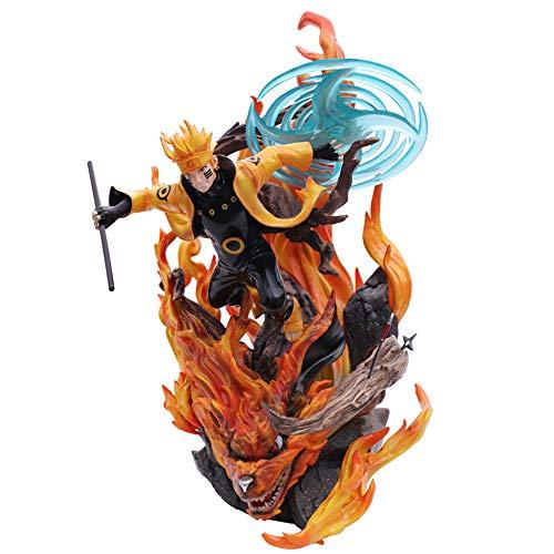 XKUN Naruto Action-Figur 35cm Uzumaki Naruto Statue Rasengan Naruto Dekorationen Modell Souvenir Sammlerhandwerk Puppen Für Geschenk Uzumaki Naruto