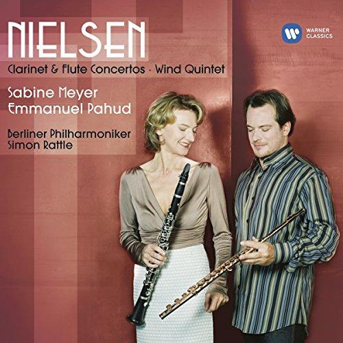 Sabine Meyer/Emmanuel Pahud/Si - Nielsen. Clarinet & Flute Conc