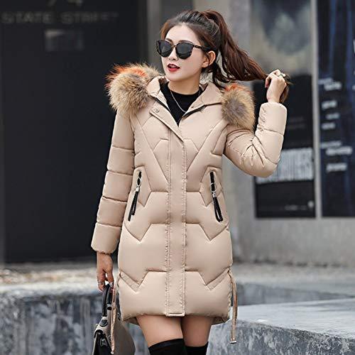 YXDS Abrigo de Mujer Chaqueta de plumón para Mujer Abrigo de Invierno cálido de Moda