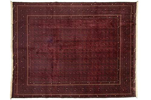 Afghan 375x301 cm Handgeknüpfter Teppich aus Afghanistan Orient 380 x 300