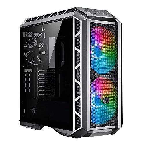 Cooler Master MasterCase H500P Mesh Mallado ARGB - Caja PC con Dos Ventiladores 200 mm para Potente Flujo de Aire, Paneles Chasis Útil a Constructores, Dispuesto Refrigeración a Líquido