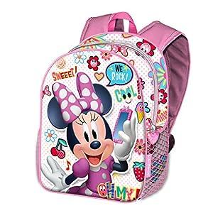 516ZuwOLWWL. SS300  - Karactermania Minni Mouse Ohmy!-zaino Basic Mochila Infantil 40 Centimeters 18.2 Multicolor (Multicolour)