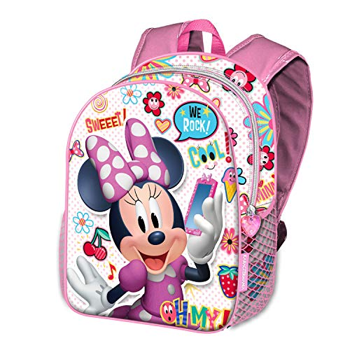 KARACTERMANIA Minnie Mouse OhMy!-Sac à dos Basic Zainetto per bambini, 40 cm, 18.2 liters, Multicolore (Multicolour)