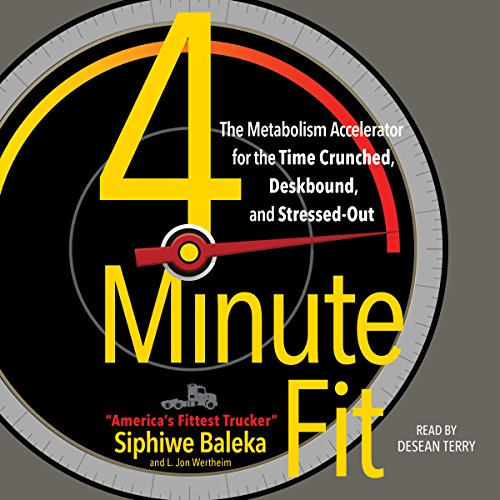 4-Minute Fit audiobook cover art