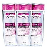 Kit L'Oréal Paris Dermo Expertise Água Micelar 5 em 1 - Água Demaquilante 3x400ml