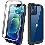 Diaclara Case Compatible with iPhone 12 Mini, 360° Full