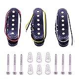 Dasing 3 Pezzi / Set Pickup Single Coil Pickup Chitarra Elettrica Neck / Middle / Bridge 50/50 / 52Mm Accessori per Chitarra